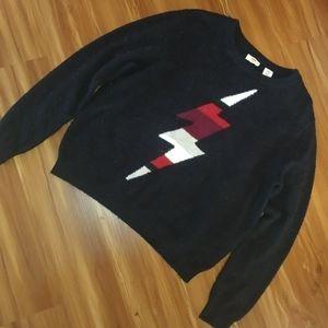 Levis Lightening Bolt Sweater